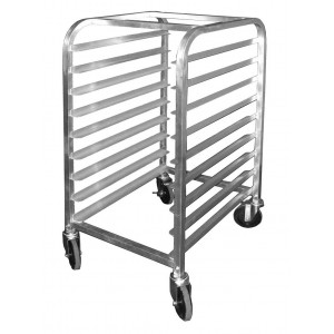 commercial kitchen bun pan racks