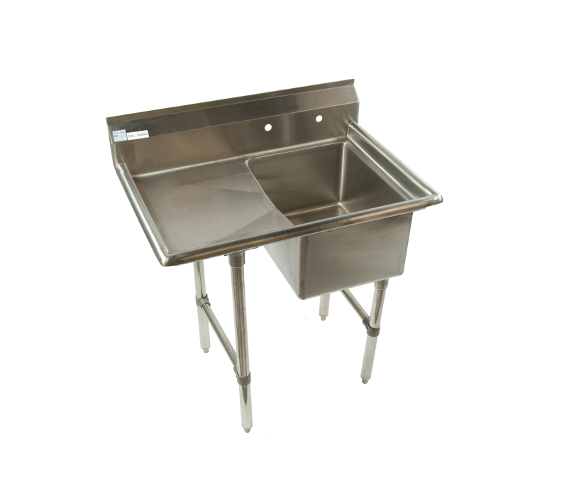 stainless steel commercial restaurant veggie sink 1 compartment