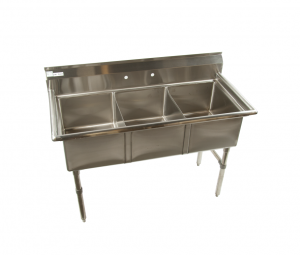 3 compartment commercial kitchen sink