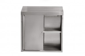 stainless steel storage wall cabinet