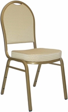 Upholsterd Stack Chairs