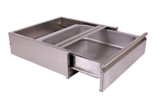 stainless steel add on drawer