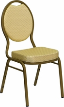 commercial fabric stack chairs beige